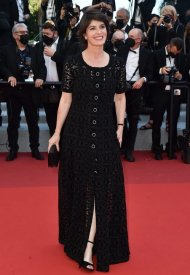 Irène Jacob wore Chanel  at 74° Cannes International Film festival - photo by Dominique Charriau