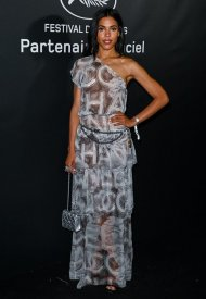 Zita Hanrot wore Chanel  at 74° Cannes International Film festival - photo by Kate Green