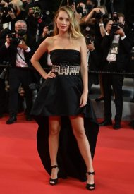Dylan Penn,  wore Chanel  at 74° Cannes International Film festival - photo by Kate Green