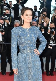 Marion Cottilard, wore Chanel  at 74° Cannes International Film festival - photo by Dominique Charriau