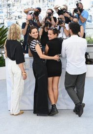 Marion Cottilard, wore Chanel  at 74° Cannes International Film festival - photo by Daniele Venturelli