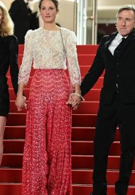Vicky Krieps, wore Chanel  at 74° Cannes International Film festival - photo by Pascal LeSegretain