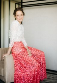 Vicky Krieps, wore Chanel  at 74° Cannes International Film festival -