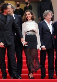 Lyna Khoudri wore Chanel  at 74° Cannes International Film festival - photo by  Vittorio Zunino Celotto