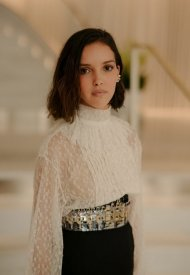 Lyna Khoudri wore Chanel  at 74° Cannes International Film festival