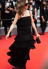 Elsa Zylberstein wore Chanel  at 74° Cannes International Film festival - photo by  Samir Hussein