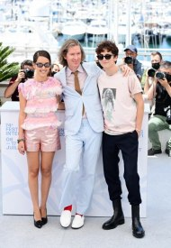 Lyna Khoudri wore Chanel  at 74° Cannes International Film festival - photo by Daniele Venturelli