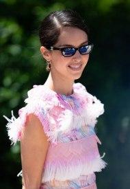 Lyna Khoudri wore Chanel  at 74° Cannes International Film festival - photo by Samir Hussein