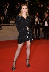 Vicky Kriepswore Chanel  at 74° Cannes International Film festival - photo by Dominique Charriau