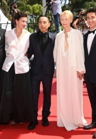 Tilda Swinton and Jeanne Balibar wore Chanel  at 74° Cannes International Film festival - photo by Pascal Le Segretain