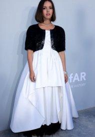 Lyna Khoudri wore Chanel  at 74° Cannes International Film festival - photo by Andreas Rentz/amfAR
