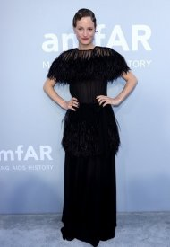 Vicky Krieps wore Chanel  at 74° Cannes International Film festival - photo by Andreas Rentz/amfAR