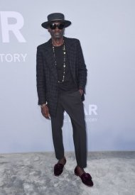 Jenke-Ahmed Tailly wore Chanel  at 74° Cannes International Film festival - photo by Stephane Cardinale - Corbis