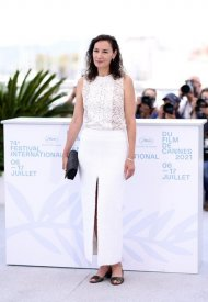Jeanne Balibar wore Chanel  at 74° Cannes International Film festival - photo by Andreas Rentz
