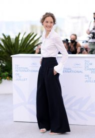 Vicky Krieps wore Chanel  at 74° Cannes International Film festival - photo by Andreas Rentz