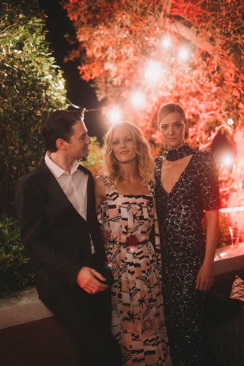 Vanessa Paradis, Nicolas Maury and Kate Moran and Chanel Afterparty