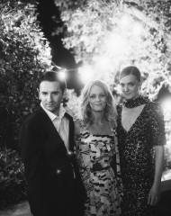 Vanessa Paradis, Nicolas Maury and Kate Moran and Chanel Afterparty