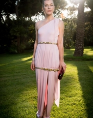 Milla Jovovich wore Chanel at amfAR 25th Cinema Andreas against AIDS . ph by Pascal Le Segretain/amfAR