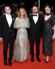 Chanel: Nicolas Maury, Vanessa Paradis, Kate Moran, Yann Gonzalez Movie cast at the Premiere . ph by John Phillips