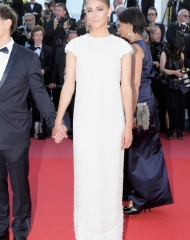 Ariane Labed wore CHANEL  at the 71st Cannes International Film Festival Closing Ceremony .  ph by Vittorio Zunino Celotto