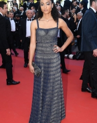Magaajyia Silberfeld wore Chanel at the 71st Cannes International Film Festival Closing Ceremony .  ph by Dominique Charriau