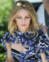 Vanessa Paradis wore Chanel . Cannes Film Festival 2018 . ph by Mike Marsland