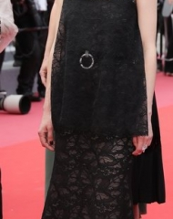 Astrid Bergès-Frisbey wore Chanel at the Cannes Film Festival 2018 premiere