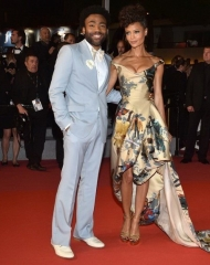 Thadie Newton wore Vivienne Westwood at the 71st Cannes International Film Festival