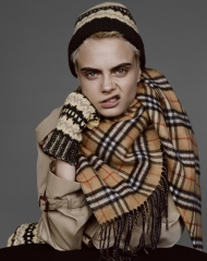 Cara Delevingne captured for Burberry by Alasdair McLellan c Courtesy of Burberry _ Alasdair McLellan