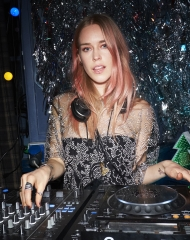 Mary Charterisat the Burberry x Cara Delevingne Christmas Party at the Burberry for Cara Delevingne Christmas Party, London (Photo by Kirstin Sinclair/Getty Images for Burberry)