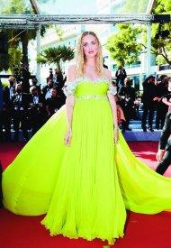 Chiara Ferragni in Giambattista Valli Haute Couture Nespresso Cannes