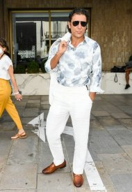 Adriano Giannini wore Ray-Ban Aviator at 74° Cannes International Film festival  - photo by  Max Montingelli/SGP