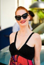 Jessica Chasta wore Valentino at 74° Cannes International Film festival - photo by Johnny Dalla Libera