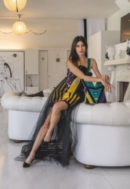 """""""Cassiopea"""" is the new 2021 collection by the designer Eleonora Altamore inspired by futurism"""