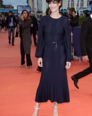 Clotilde Hesme in Chanel al 3rd Deauville American Film Festival (Photo by Francois G. Durand)