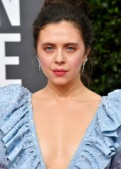 Bel Powley wore Chanel at 77th Golden Globe Awards . photo © by Frazer Harrison