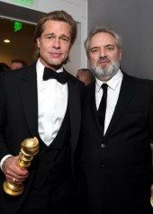 Brad Pitt and Sam Mendes
