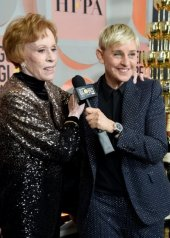 Carol Burnett and Ellen DeGeneres