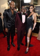 Karamo Brown, Wesley Snipes, and Winnie Harlow wore LaQuan Smith