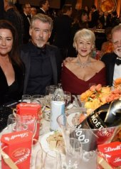 Keely Shaye Smith, Pierce Brosnan, Helen Mirren and Taylor Hackford