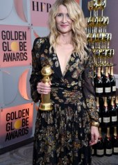 Laura Dern wore Saint Laurent