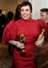 Olivia Colman wore Emilia Wickstead