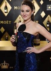 Shailene Woodley wore Balmain