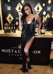Winnie Harlow wore LaQuan Smith