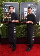 Moët & Chandon at the 77th Golden Globes