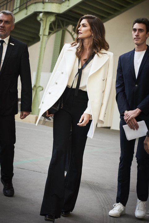 Cindy Crawford at Chanel Spring Summer 2018 Collection