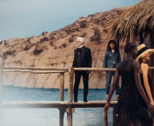 Karl Lagerfeld et Virginie Viard