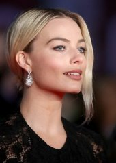 Margot Robbie, Chanel ambassador . The 73rd British Academy Film Awards
