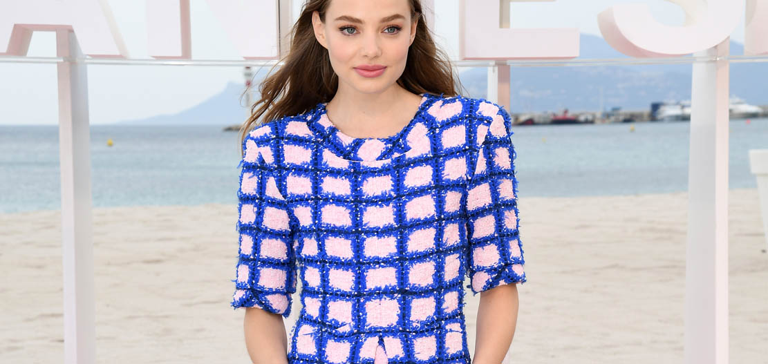 Kristine Froseth in Chanel 1st Cannes International Series Festival_ 'The Truth About The Harry Quebert Affair' photocall (Pascal Le Segretain)