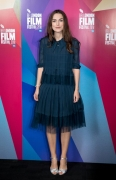 Keira Knightley wearing Chanel at 62nd BFI London Film Festival - Screen Talk with Keira Knightley (photo by Tim P. Whitby)